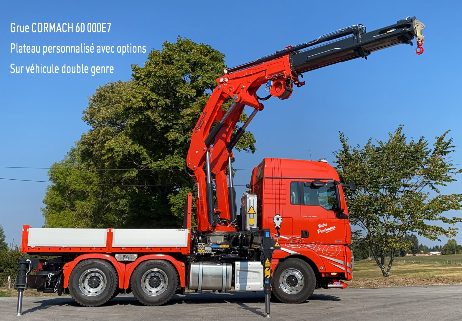 CORNUT-Grue de manutention CORMACH 60 000
